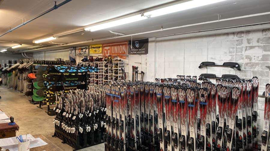 Largest selection of skis and snowboards for rent in the SF Bay Area for all skill levels