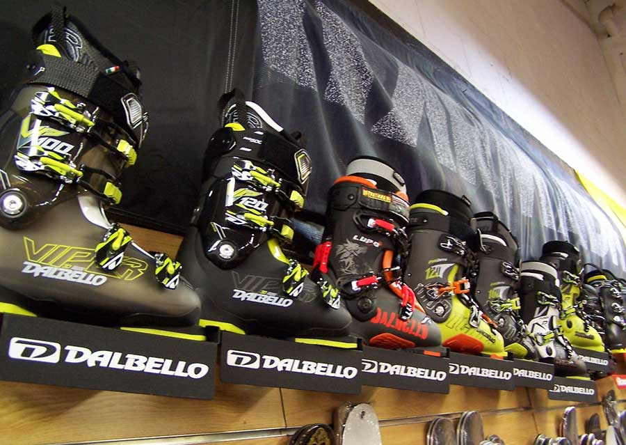 Ski boot fitting by Master Bootfitters