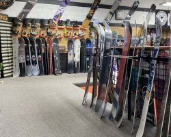 Top brands and the latest styles of snowboards