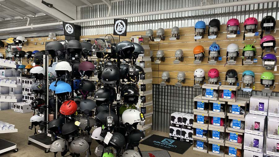 Ski and Snowboard helmets and goggles