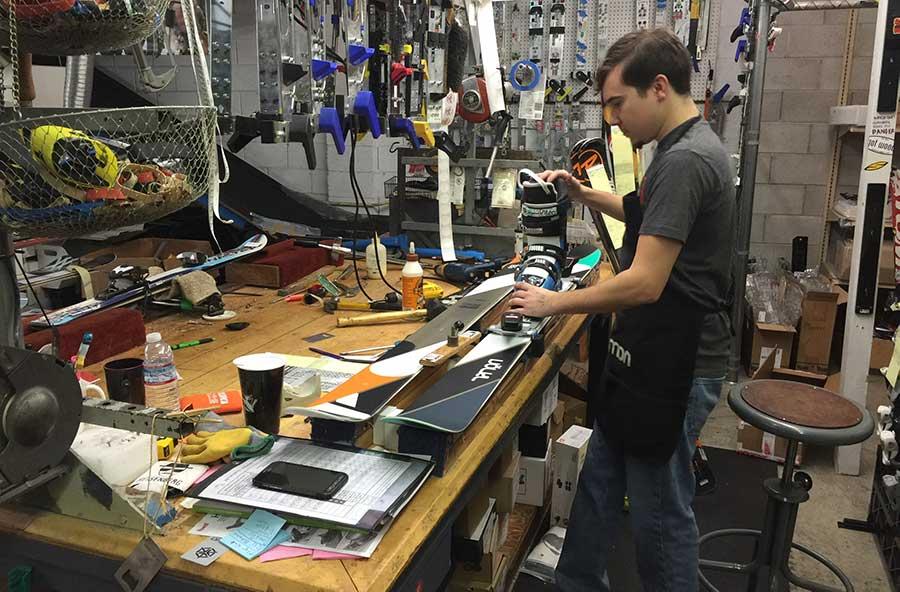 Expert ski and snowboard tuning and repair