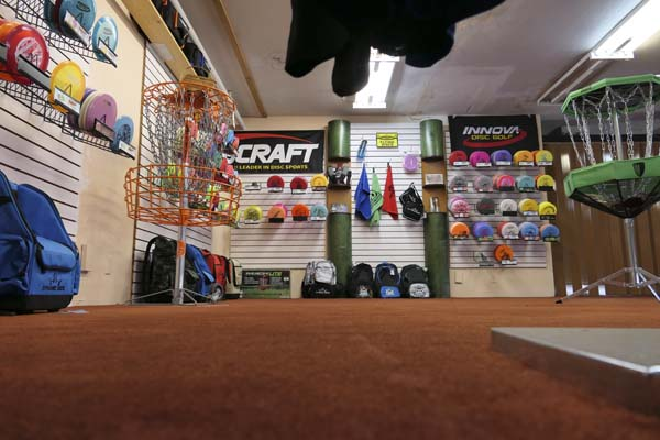 Huge disc golf frisbee and accessories selection at Helm of Sun Valley